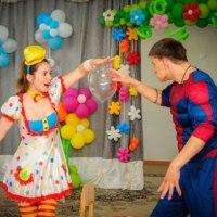 Клоуны на детский праздник — это